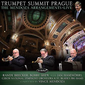 Brecker, Randy / Shew, Bobby - Trumpet Summit Prague: Mendoza Arrangements Live [CD] USA import