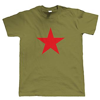 Vectorbomb, Red Star, Mens Retro Soviet Political T Shirt (S to 5XL)