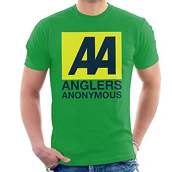 Anglers Anonymous AA Logo Fishing Men's T-Shirt