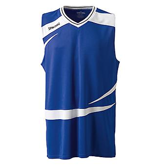 SPALDING basketball training logo tank top [royal]