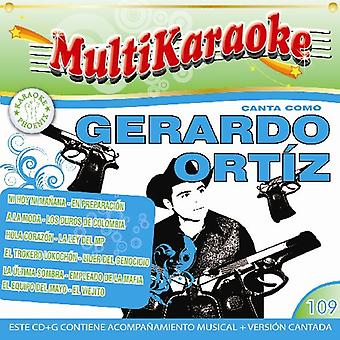 Gerardo Ortiz - Puro Karaoke [CD] USA import