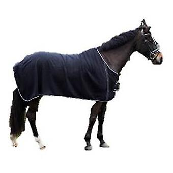 QHP wool blanket with Adorno Black / Silver