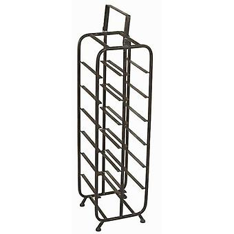Bigbuy large black bottle (Home , Kitchen , Wine and Bar , Racks)