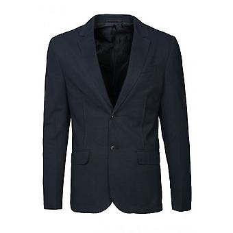 Jack and Jones Carlos Blazer Navy Blue Jacket