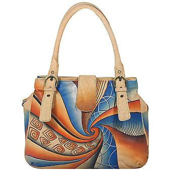 Greenland-art + craft leather of shopper 90-09