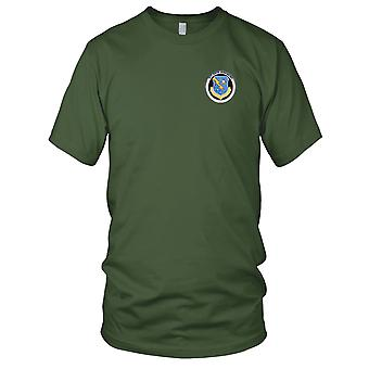 USAF Airforce - 327th Fighter Group (Air Def) Embroidered Patch - Ladies T Shirt