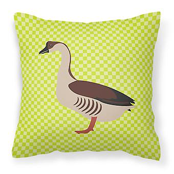Carolines Treasures  BB7722PW1818 Chinese Goose Green Fabric Decorative Pillow