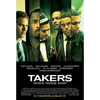 Takers Movie Poster (11 x 17)