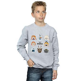 Disney Boys Frozen Emoji Heads Sweatshirt