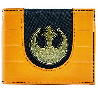 Star Wars Rebel Alliance Logo-ID & Karte BiFold Geldbörse