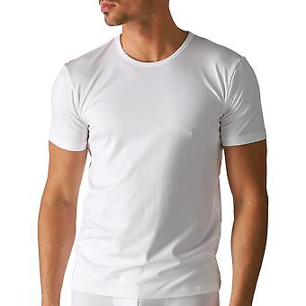 Mey 46102-101 Men's Dry Cotton White Solid Colour Short Sleeve Top