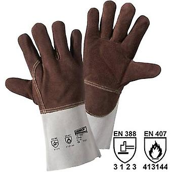 Split leather Heat-proof glove Size (gloves): Unisize EN 388 , EN 407