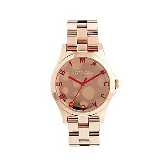 Marc By Marc Jacobs Ladies Rose Gold Watch MBM3268