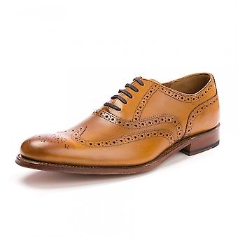 Grenson Grenson Dylan Calf Tan Mens Brogue