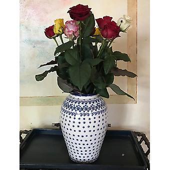 Floor vase, height 32 cm, winter garden, BSN J-4305