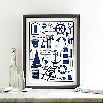 Nicely Nautical Screen Print
