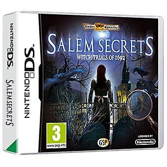 Versteckte Geheimnisse Salem Geheimnisse Witch Trails von 1692 (Nintendo DS)