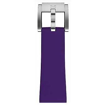 TW Steel Marc Coblen Bracelet Watch band silicone 22 MM purple SB_V_S