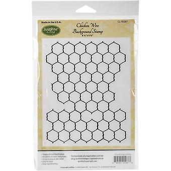 JustRite Pepercraft Background Cling Stamps 4.5