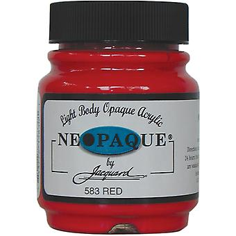 Jacquard Neopaque Acrylic Paint 2.25oz-Red