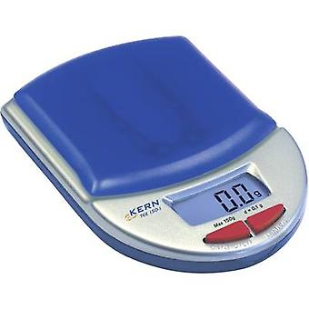 Kern TEE 150-1 Pocket scales Weight range 150 g Readability 0.1 g battery-powered Calibrated to Manufacturers standards (no certificate)