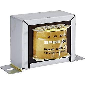 PA transformer 50 W Monacor 335568
