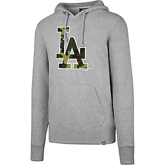 47 fire CAMOFILL Hoody - grey MLB Los Angeles Dodgers