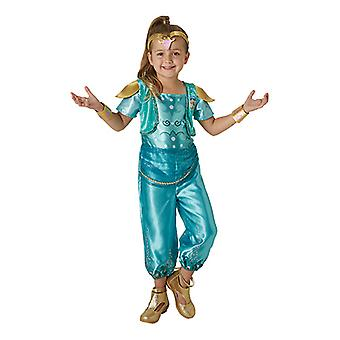 Shine shimmer and shine child costume costume