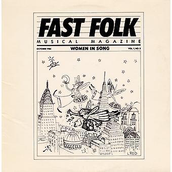 Fast Folk Musical Magazine - Vol. 1-Fast Folk Musical Magazine (8) kvinnor i [CD] USA import