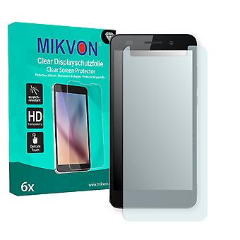 Huawei Y6 II Screen Protector - Mikvon Clear (Retail Package with accessories)