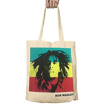 Bob Marley Tote Bag Rasta Portrait Logo Legend One Love new Official Fabric
