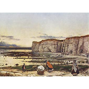 Pegwell Bay in Kent; A Recollection of, William Dyce, 50x40cm