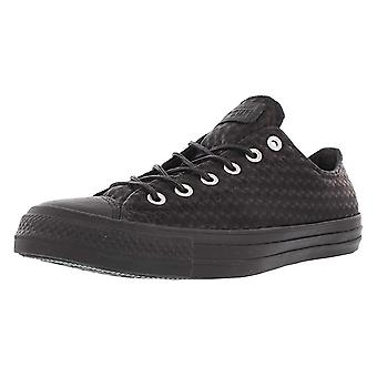 Converse Mens Chuck Taylor All Star Craft Leather Ox Faux Leather Skate Shoes
