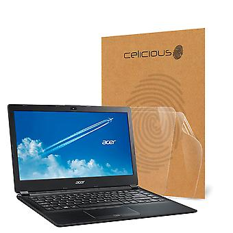 Celicious Vivid Invisible Glossy HD Screen Protector Film Compatible with Acer TravelMate P4 TMP459-G2-M [Pack of 2]