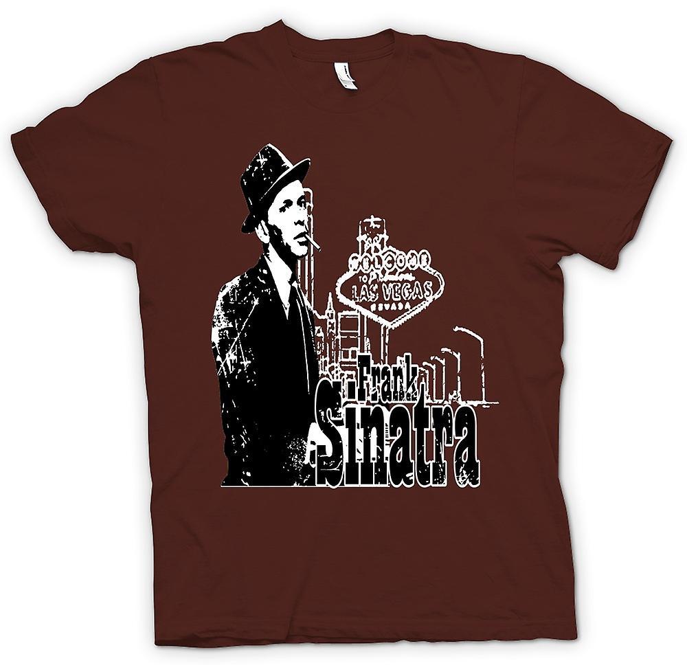 Mens T-shirt - Frank Sinatra Vegas - Swing - Icon