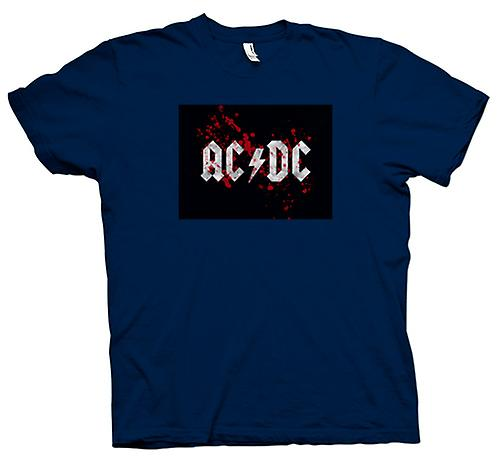 Mens T-shirt - AC/DC - Rock Band - Logo