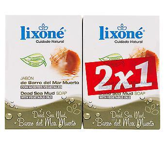 Lixone Barro Del Mar Muerto Jabón Piel Grasa 2 X 125 Gr Unisex