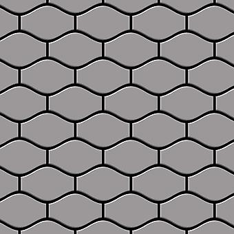 Metal mosaik rustfri LEGERING Karma-S-S-MA