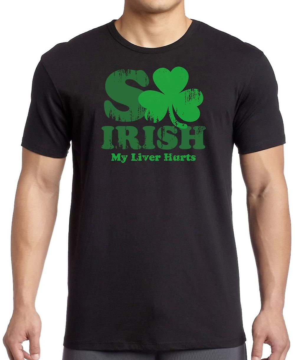 So Irish My Liver Hurts - St Paddys Women T Shirt
