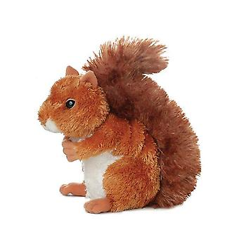 Aurora Mini Flopsies - Nutsie Squirrel Soft Toy 20cm