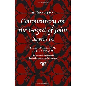 Commentary on the Gospel of John, Books 1-5