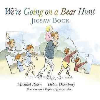 Vi kommer på en Björn jakt (pussel böcker)