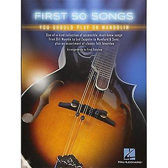 Först 50 låtar du bör spela på Mandolin