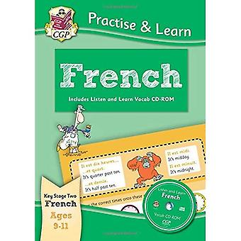 Practise & Learn: French (Ages 9-11) - with vocab CD-ROM