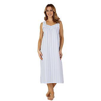 Slenderella ND3222 Women's Woven Night Gown Loungewear Nightdress