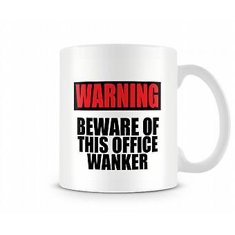 Atención de oficina esta W ** ker taza