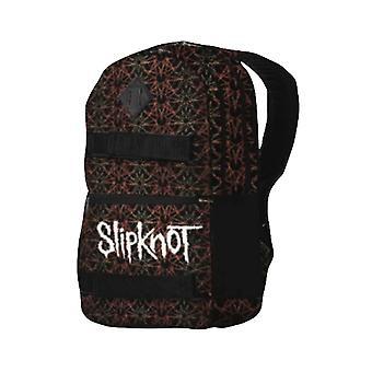 Slipknot Backpack Skate Bag Pentagram Iowa Band Logo new Official Black