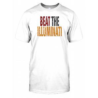 Beat the Illuminati - Conspiracy Kids T Shirt