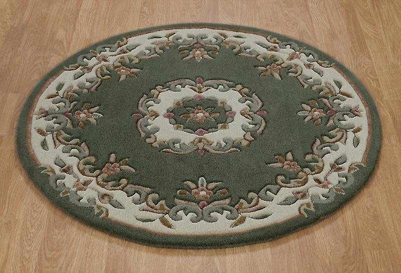 Rugs - Mahal Round - Green