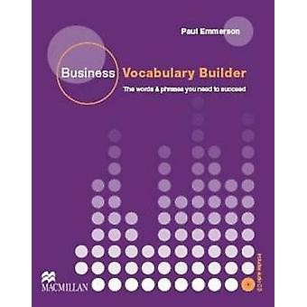 Business Vocabulary Builder with Audio CD by Paul Emmerson